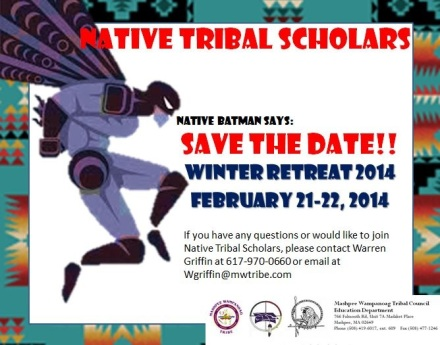 Native Tribal Scholars Winter Retreat!